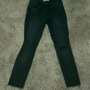 Rachel Roy Distressed Jeans